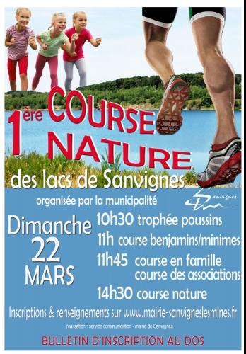 Trail de Sanvignes 22 mars 2015