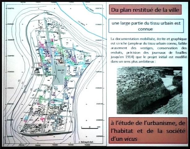 Vertillum, habitats gaulois et gallo-Romains, une conférence de Jacky Bénard