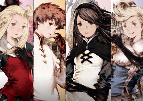 Personnages Bravely Default