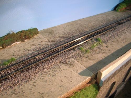 Le ballast de la voie secondaire (4)