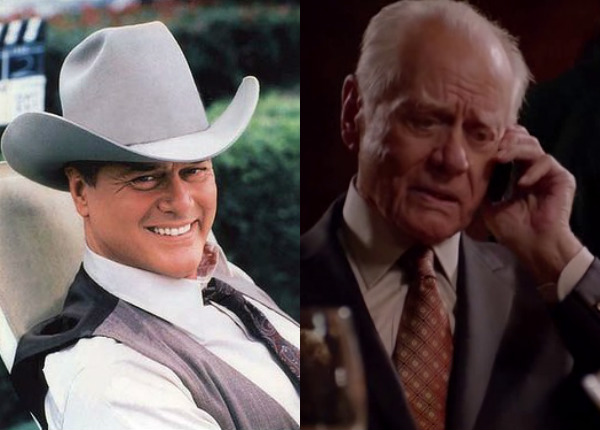 Larry Hagman (JR Ewing)