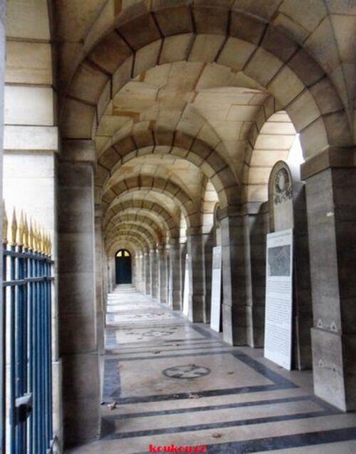 Echappée belle Parisienne. La chapelle expiatoire.