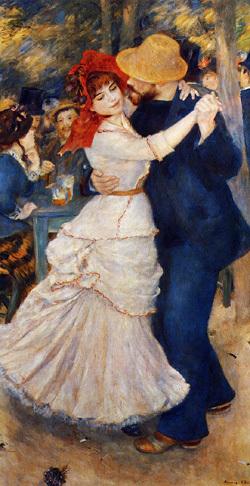 Auguste Renoir : Danse à Bougival