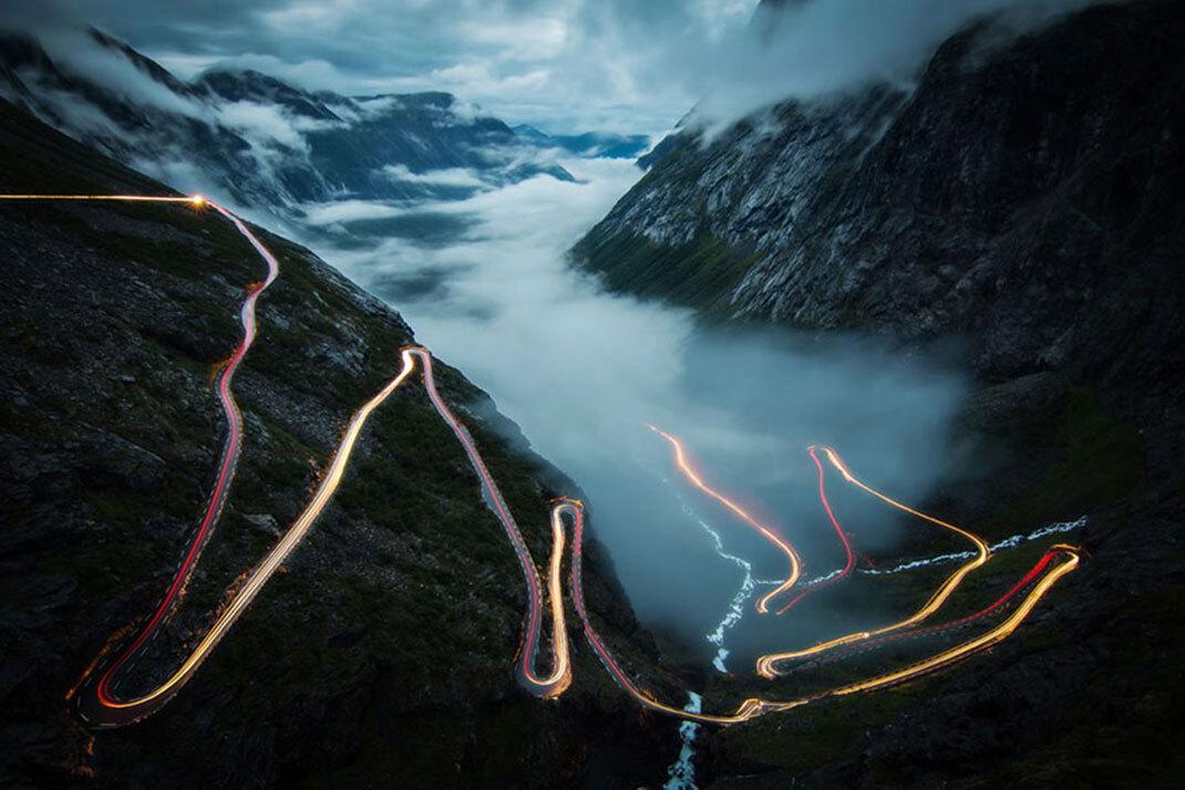Trollstigen de Christoph Schaarschmidt, Norvège