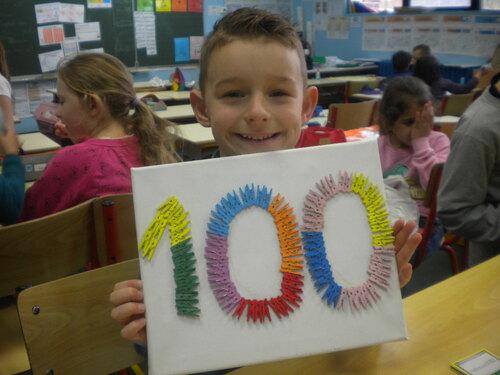 La fête du 100ème jour d'école 2017-2018