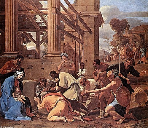 Nicolas Poussin - Adoration of the Magi