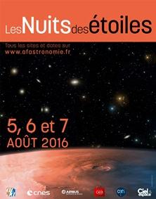 La Nuit des étoiles 2016