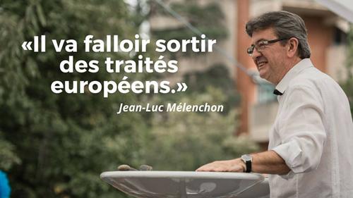 Les errements de Jean-Luc Mélenchon sur l'Europe
