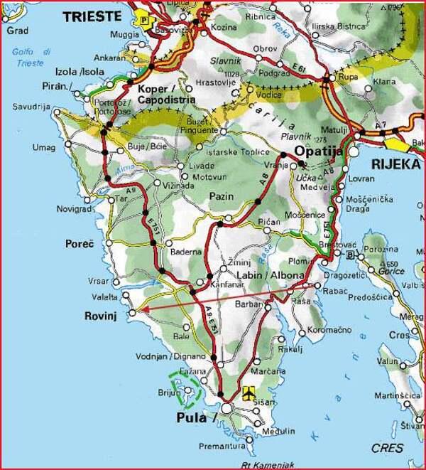 Excursion jusqu'à Rovinj