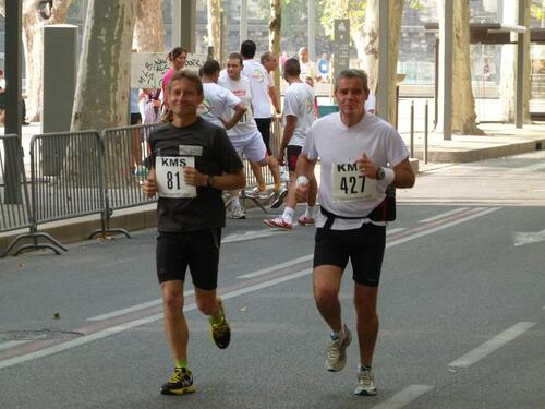 10 km de la cité des Papes 2012