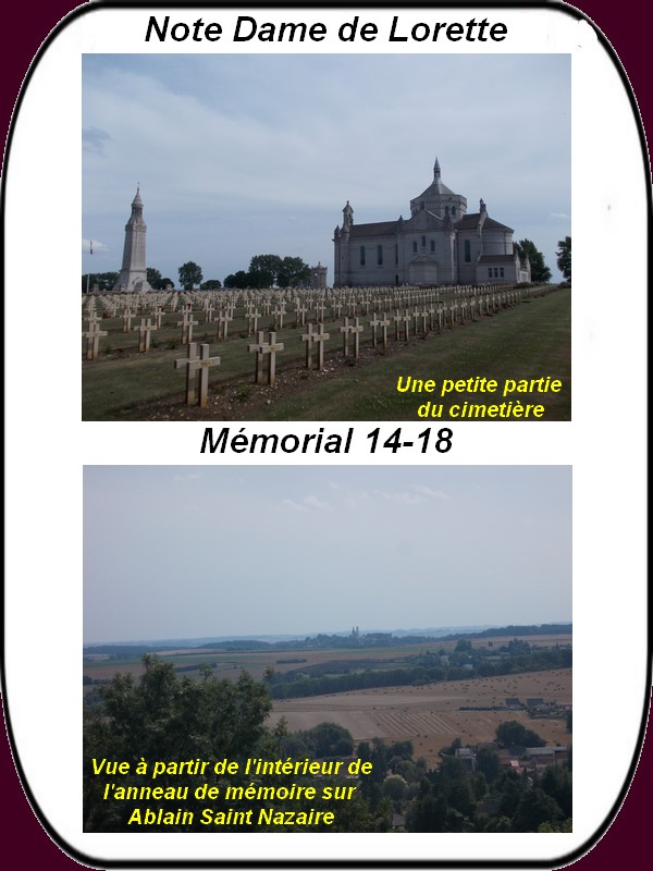 Visite du mémorial international de Notre Dame de Lorette 05