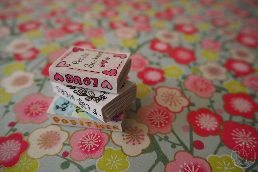 DIY - Tutoriel : Fabriquer des mini carnets