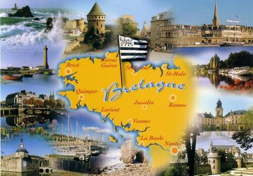 la Bretagne  Pays de légendes