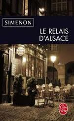 Le relais d'Alsace  Simenon
