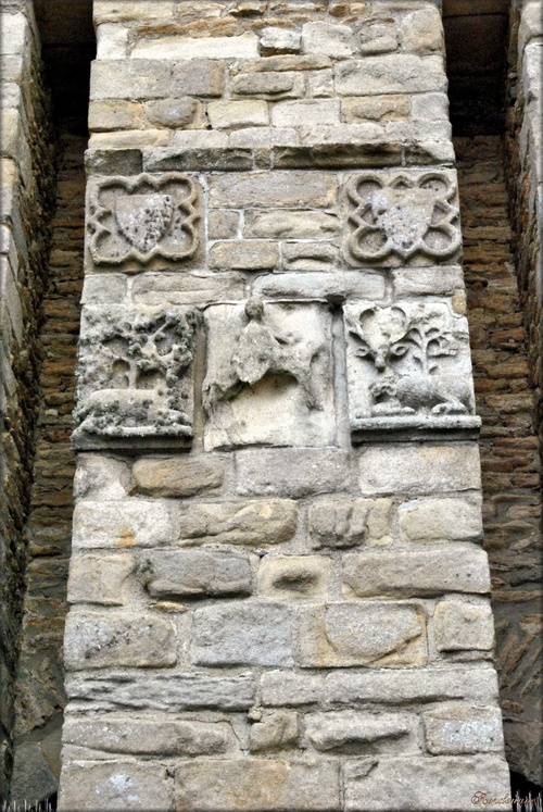 Photo des armoiries du château Suscinio à Sarzeau en Morbihan