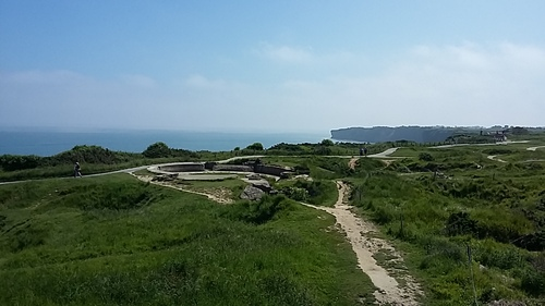 suite  - la pointe du Hoc