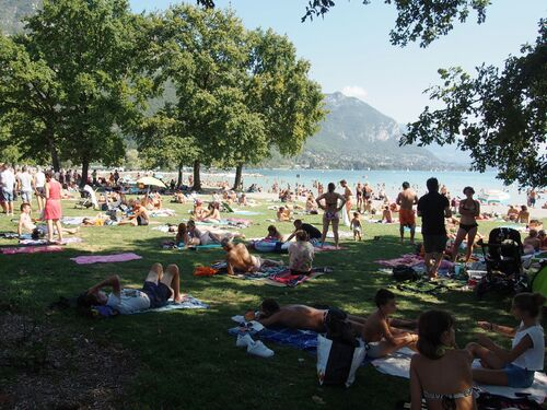 "Août 2015 ""Lac Annecy"""