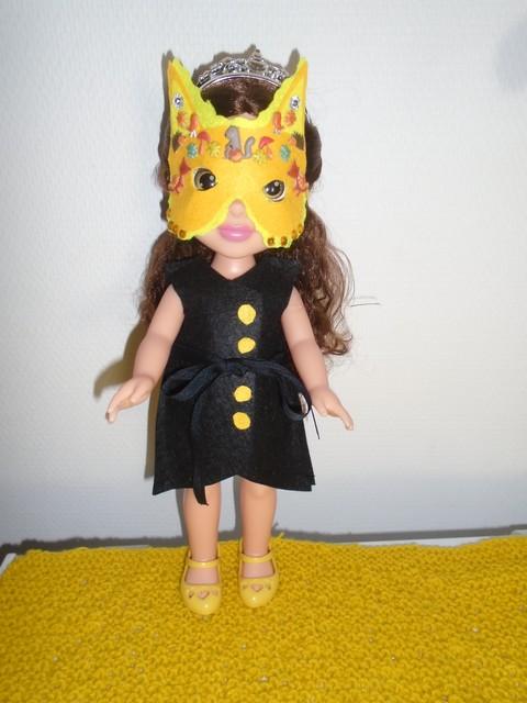 La tenue d'Halloween de Belle