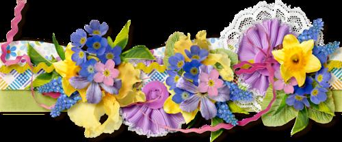 Bordures Fleurs Série 7