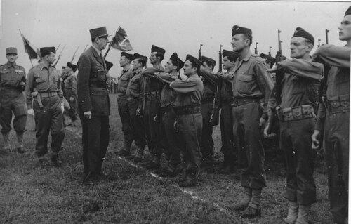 * Etape n° 37 - 11 Janvier 1945 : le sacrifice du Bataillon de Marche 24 à OBENHEIM
