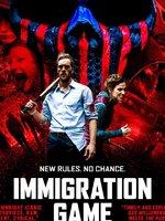 Immigration Game : L?Europe a fermé ses frontières aux réfugiés. L?Allemagne reste le seul pays à offrir la citoyenneté, mais sous une condition. Les réfugiés sont accueillis si, et seulement si, ils survivent au jeu de téléréalité « Immigration Game ». Abandonnés dans la banlieue de Berlin et livrés à eux-mêmes, ils doivent rejoindre la tour de télévision qui se trouve dans le centre de Berlin le plus vite possible, sans se faire tuer par les citoyens allemands, autorisés à les persécuter. Joe, déjà citoyen, va être contraint malgré lui de participer à ce jeu mortel. ... ----- ... Origine : allemand  Réalisation : Krystof Zlatnik  Durée : 1h 36min  Acteur(s) : Mathis Landwehr,Denise Ankel,Horst-Günter Marx  Genre : Action,Drame,Thriller  Date de sortie : 17 mai 2017en DVD  Année de production : 2017  Critiques Spectateurs : 3.6 (IMDb)