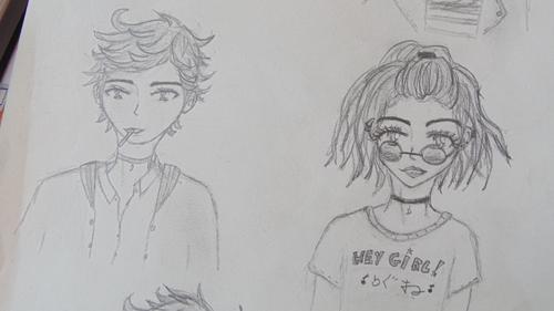 Mes progrès en dessin |☆| 2015-2017