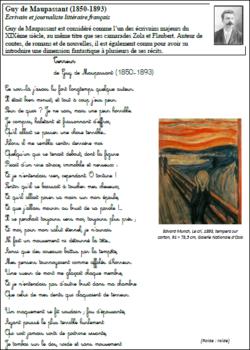 Fables et poésies CM2
