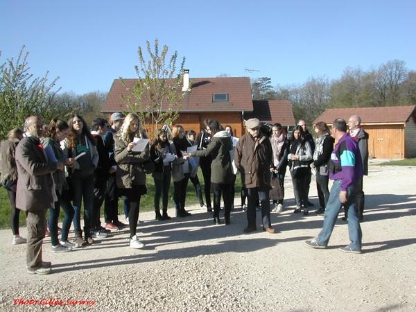 Les échanges 2014 entre les lycéens de Stuttgart et ceux de Châtillon sur Seine