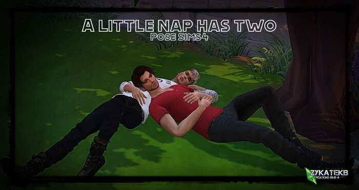 A little nap has two