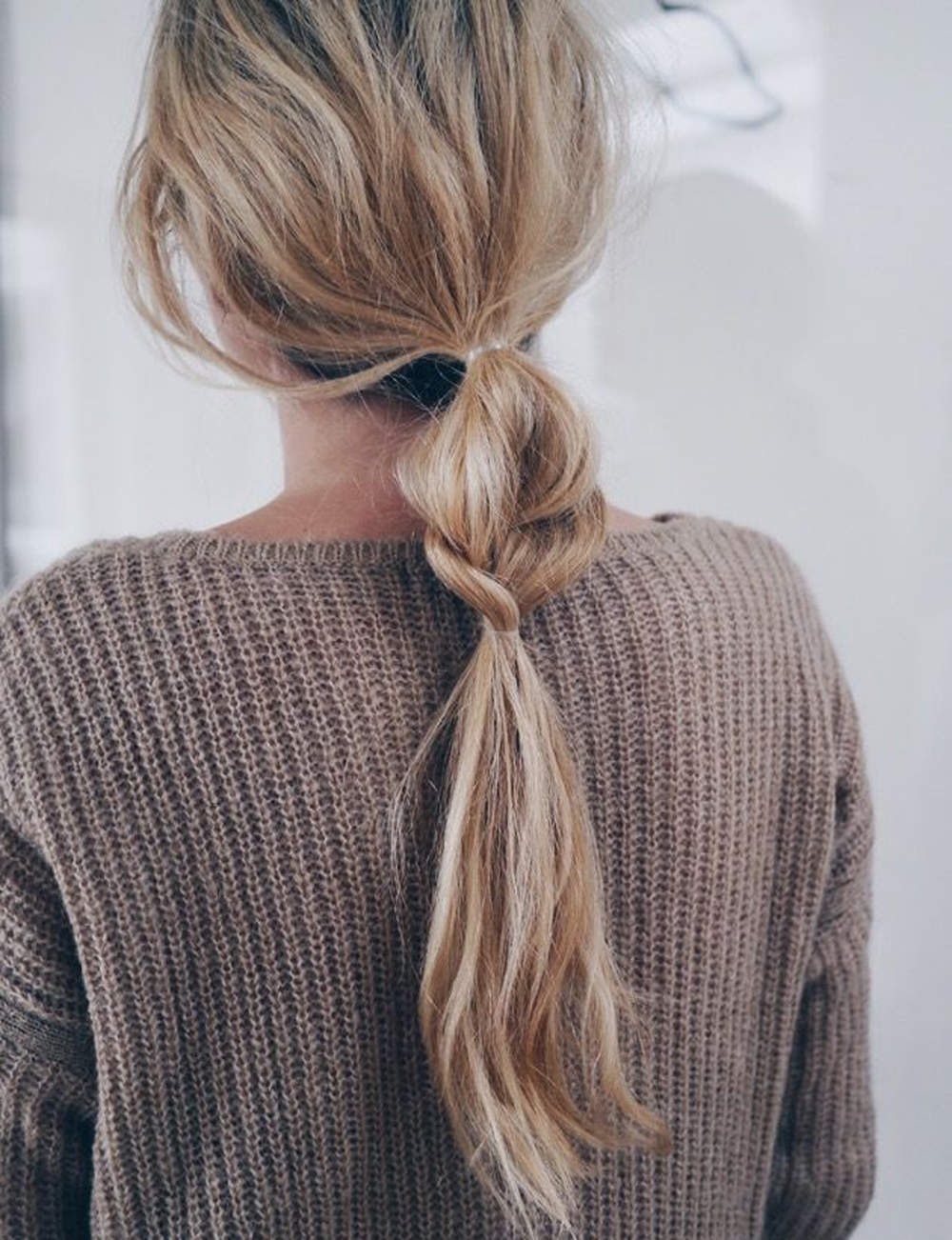 Une ponytail originale