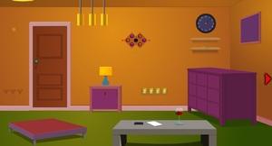 Jouer à Scenic pink house escape