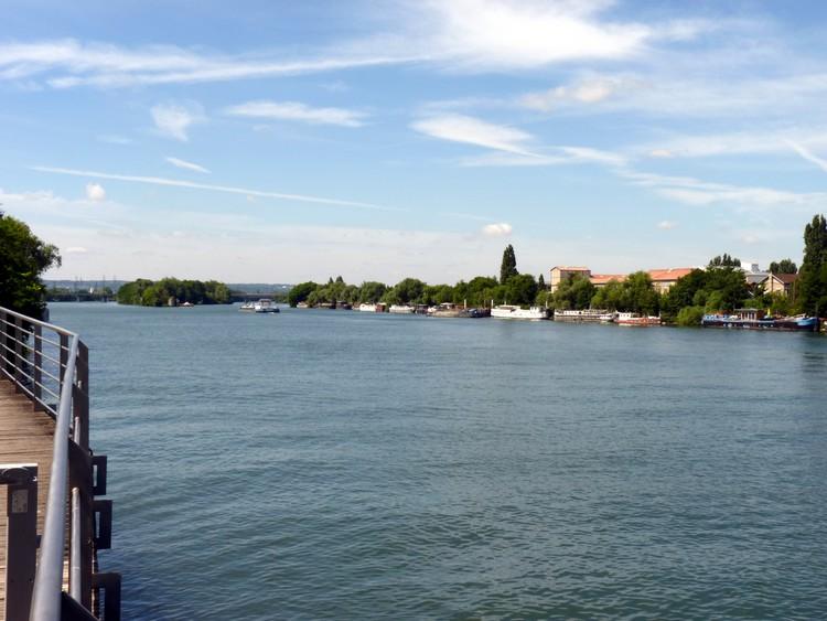 La Seine à Bezons