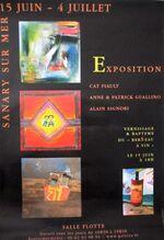 Sanary Poiré Guallino exposition