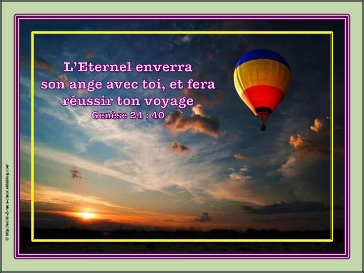 L'Eternel enverra son ange avec toi - Genèse 24 : 40