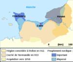 Le traité de Saint Clair sur Epte - 911