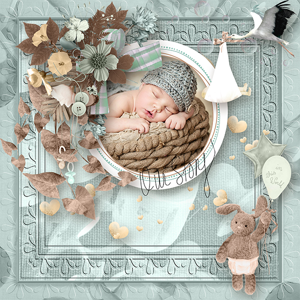 A new life de Angelique's Scrap