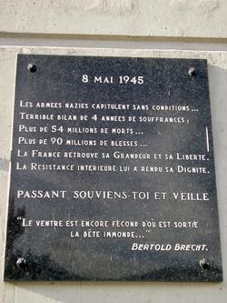 Les plaques et monuments commémoratifs en Isère (hors Grenoble)
