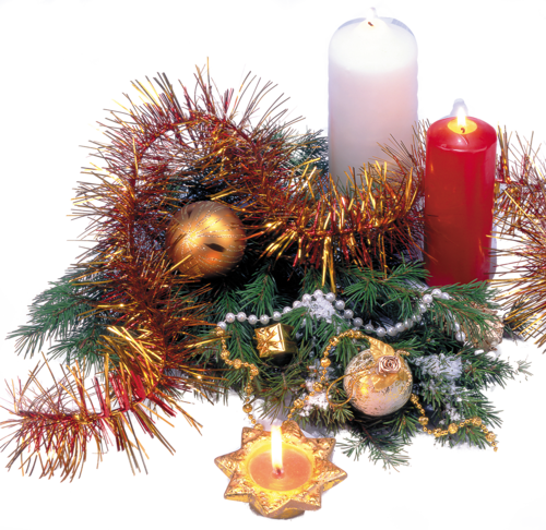Bougies de Noël Série 9