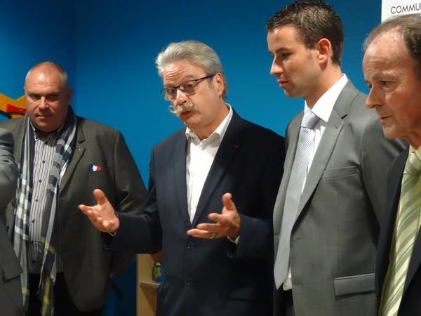 """Le """"Pôle Petite Enfance du Pays Châtillonnais"""" a été inauguré lundi 2 novembre 2015"""