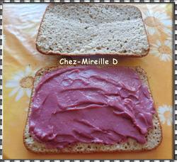Framboise Curd et son Gâteau