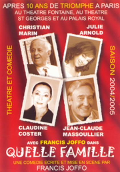 Julie Arnold, Christian Marin, Claudine Coster, Jean-Claude Massoulier Francis Joffo