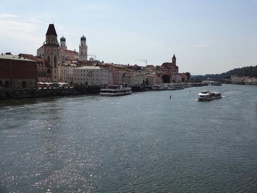 Mardi 17 juillet  Straubing – Passau