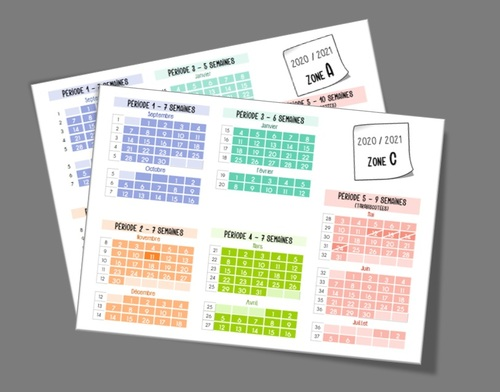 Planning hebdo 2020/2021 (zones A et C)