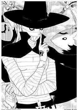 """""""Radiant"""" Grimm (Noir et Blanc)"""