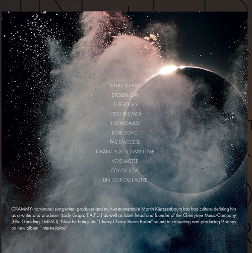 L'ombre duTracklist et pochette de l'album Interstellaires