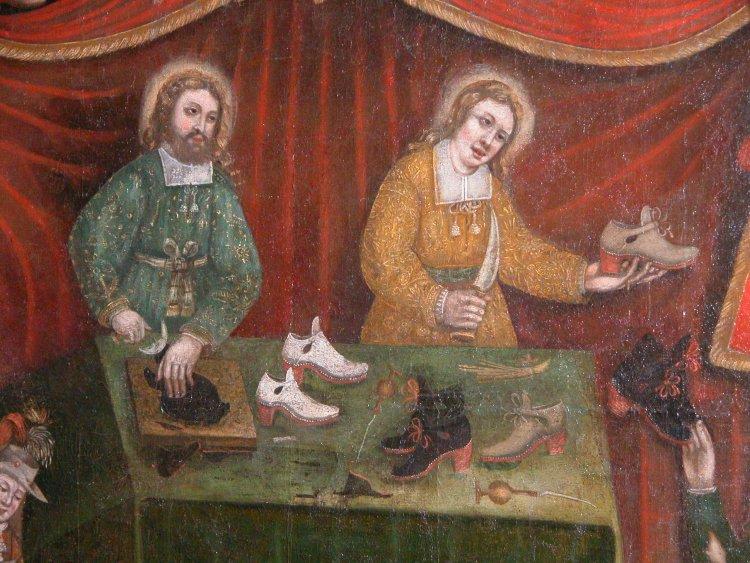 Saints Crépin et Crépinien. Martyrs à Soissons († 285)