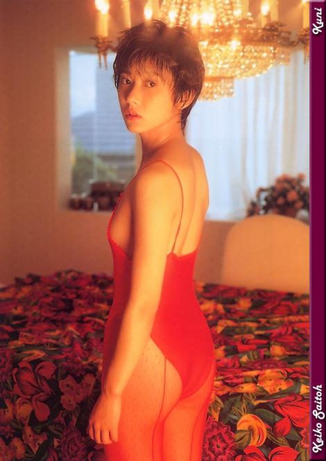 Model Collection : ( [KUNI Scan] - |vol.1| Keiko Saito/斉藤慶子 )