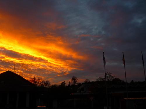 Coucher du soleil 16h30