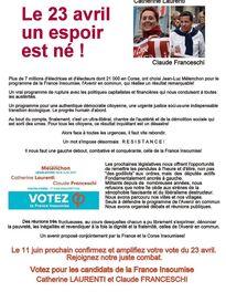 Législatives en Corse