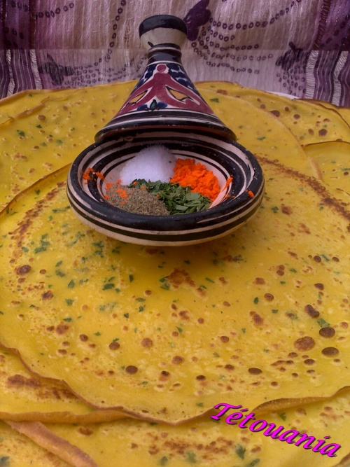 crêpes curry